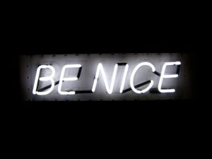 Be nice lights