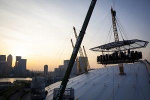 London in the Sky O2 Arena dinner