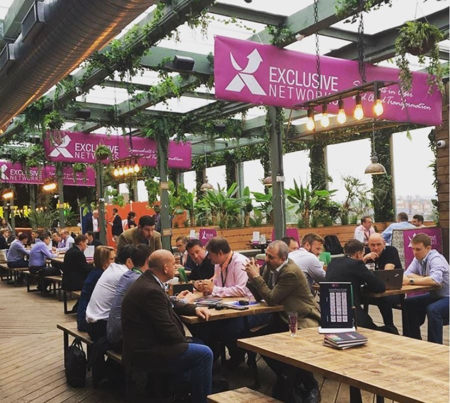 Pergola Event for Exclusive Networks