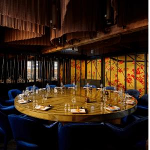 Sushi Samba dinner setting