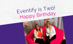 Eventify is Two Birthday