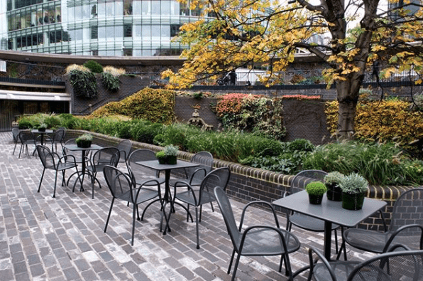 Small Conference Case Study Museum of London Garden Terrace