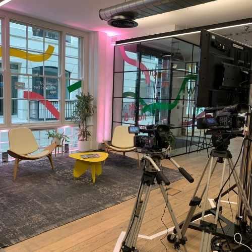 Treatwell Connect Look Forward 2021 Eventify Hybrid TV Studio Set